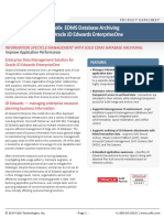 Enterprise Data Management Solution for Oracle JD Edwards EnterpriseOne