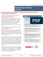 Enterprise Data Management Solution for Oracle Siebel CRM Applications