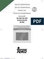 Manual Vitrocerámica FV (Hc490)