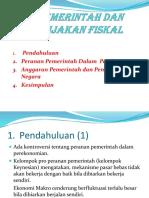 6. Pemerintah Dan Kebijakan Fiskal