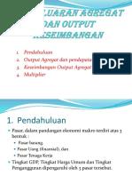 5. Pengeluaran Agregat Dan Output Keseimbangan