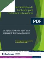 Herramientas de Cochrane para revisiones sistemáticas