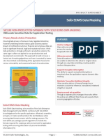 Solix EDMS Data Masking