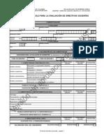 Protocolo de Directivos Docentes