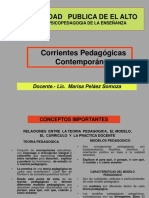c Oriente s Pedagogic As
