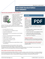Solix Enterprise Data Management Suite Standard Edition Data Validation