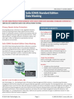 Solix Enterprise Standard Edition Data Masking