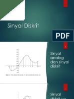 Sinyal Diskrit pada signal prosessing.pptx