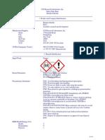 MSDS Barium Chloride
