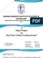 Real time vehicle tracking system