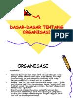 DASAR DASAR Organisasi