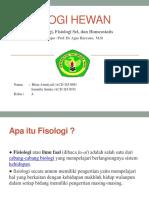 PPT Fisiologi Hewan