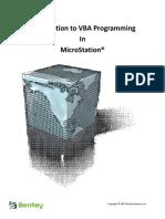 MicroStation VBA Grid Program