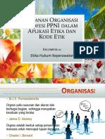 Peranan Organisasi Profesi PPNI Dalam Aplikasi Etika