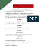 Decreto Presidencial Nº 29-Pararaios