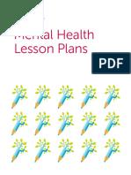 mental health lesson plans