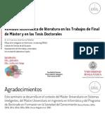 García Peñalvo (2012) Revisión Sistemática de Literatura en Trabajos de Grado