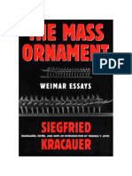 Kracauer, The Mass Ornament