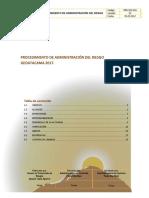 PRO-SSO-001 - Procedimiento de Administracion de Riesgos