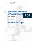 RIBA Standard Conditions Architect