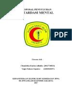 proposal penyuluhan retardasi mental