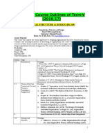 Detailed Course Outline for Term_V_2016-17