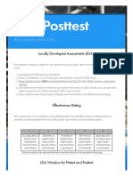 lda posttest   smore newsletters for education