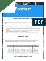 lda posttest   smore newsletters for education