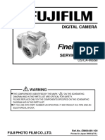 Fujifilm Finepix S3800 Service Manual