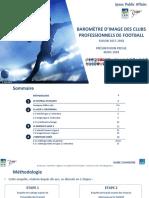 Baromètre d'Image des clubs professionnels de football
