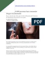 Psicoactivas 2014 Colombia