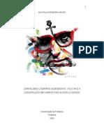 JORNALISMO LITERÁRIO-SUBVERSIVO