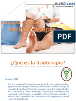 Conceptos Basicos en Fisioterapia