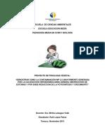 Proyecto de Fisiologia Vegetal