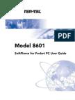 Model 8601 Softphone for Pocket PC Usre Guide