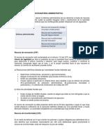 tarea recursos administrativos