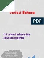 Slide Bm Variasi Bhasa