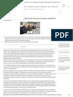 CAF Otorga Recursos Para Rehabilitación de Plantas de Agua Potable en Venezuela _ CAF