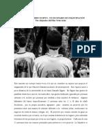 UN ESCENARIO DE EMANCIPACIÓN ANALIZADO DESDE RANCIERE