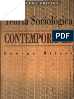Ritzer, George - Teoria Sociologica Contemporanea