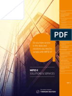 MiFID II Solutions and Services