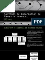 Sistemas de Información de Recursos Humanos