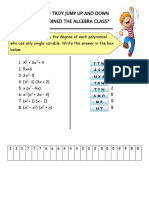 Polynomial Functions Math