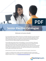 Senior Elective Catalogue PDF Updated December 11 2017