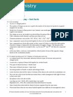 Worksheet Chemistry