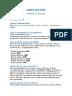 Curso de Forex Basico
