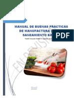 Manual de Bpm y Saneamiento Basico Findacipin Fqbiola PDF