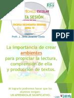 Expos Lectura, Prod Texto