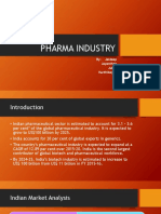 Pharma Industry- Group 5