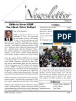 NSBP Newsletter 2010 Vol1
